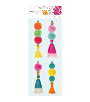 American Crafts New Day Dear Lizzy 4 pk Tassels, , hi-res