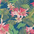 Tommy Bahama Outdoor Fabric 9\u0022x9\u0022 Swatch-Ocean Floral Carib
