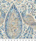 Home Decor 8\u0022x8\u0022 Fabric Swatch-Waverly Jewel Tower Luna