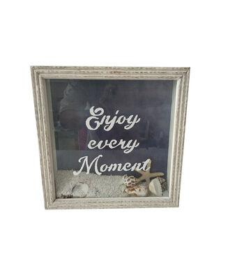 Indigo Mist Tabletop Decor-Enjoy Every Moment