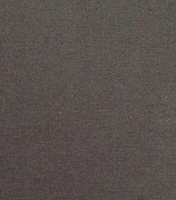 """Bottomweight Jegging Knit Fabric 58""""-Caviar"""