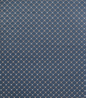 "Jaclyn Smith Upholstery Fabric 54""-Forward Rot/ Cobalt"