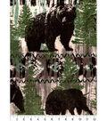 Snuggle Flannel Fabric -Wild Animals