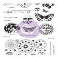 Prima Marketing Art Daily Planner 20 pk Cling Stamps-Dream without Fear