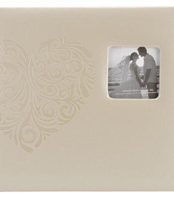 Pioneer Embossed Wedding Album: Tree