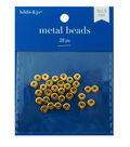 Heishi Spacer Beads, Gold, 15 x 15mm