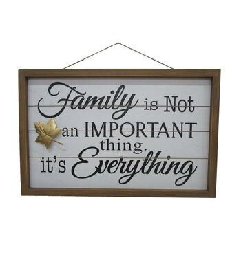 Simply Autumn Family Is Everything FraMedium Wall Decor