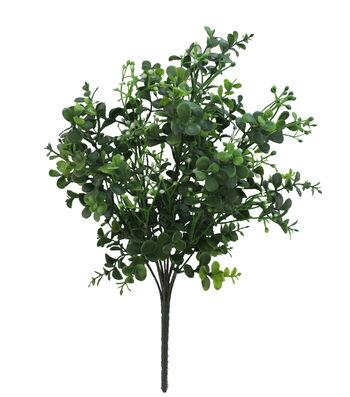 Fresh Picked Greens Boxwood & Baby's Breath Bush