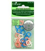 Clover Split Ring Markers 24/pkg, , hi-res