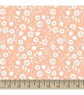 Elizabeth Olwen Cotton Fabric-Floral Whimsy Vine Toss