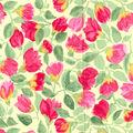 Gertie Collection Cotton Poplin Fabric -Tulip on Yellow