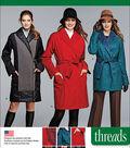 Simplicity Patterns Us1015U5-Simplicity Miss/Petite Coat/Jacket Threads Magazine-16-18-20-22-24