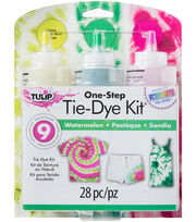 Tulip One-Step 3-Color Tie-Dye Kit-Watermelon, , hi-res