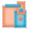 Spellbinders Nestabilities Card Creator Dies Pearl Effects