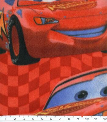 Disney Lightening McQueen Cars Fleece Fabric 58''
