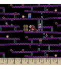 Nintendo Donkey Kong Jumpmans Ascent Cotton Fabric