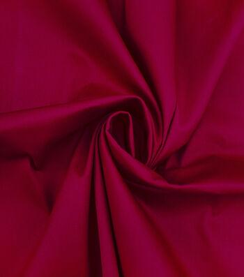 Sportswear Apparel Stretch Twill Fabric 57''-Red Solid