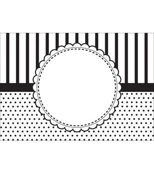 """CGull Embossing Folder 5""""X7""""-Circle Frame"""