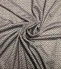 Yaya Han Cosplay Fabric -Gray Chainmaille Print