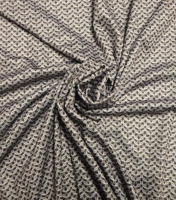 Yaya Han Cosplay Fabric 59''-Gray Chainmaille Print