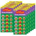 Amazing Apples-Apple Stinky Stickers 12 Packs
