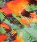 Silky Prints Stretch Satin Fabric 58\u0022-Jungle