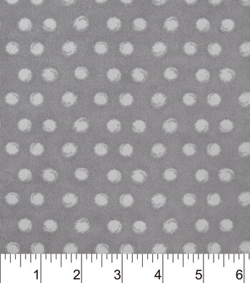 Snuggle Flannel Fabric -Cloudburst Dot