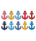 Anchors Accents 30/pk, Set of 6 Packs