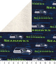 Seattle Seahawks Fleece Fabric-Sherpa, , hi-res