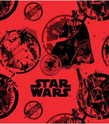 """Star Wars Fleece Fabric 58""""-Danger"""