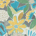 PKL Studio Outdoor Fabric 9\u0022x9\u0022 Swatch-Catchin\u0027 Rays Citron