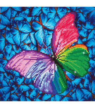 Diamond Dotz Kit-Flutter By Pink