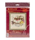 Riolis 8\u0027\u0027x8\u0027\u0027 Counted Cross Stitch Kit-Tea With Lemon