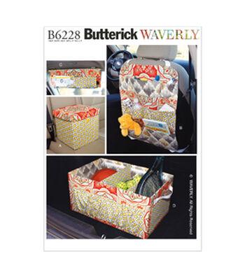 Butterick Car Organizers-B6228