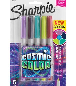 Sharpie Ultra-Fine Markers 5pk-Cosmic Color