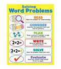 Carson-Dellosa Solving Word Problems Chart 6pk