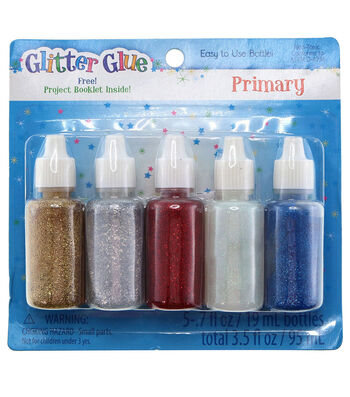 Glitter Glue Variety Pack-Primary