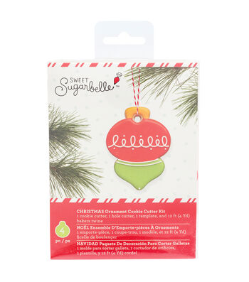 Sweet Sugarbelle Ornament Cookie Cutter Kit-Christmas
