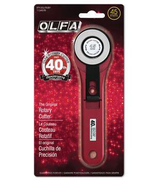 OLFA 45mm 40th Anniversary Ruby Rotary Cutter