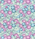 Snuggle Flannel Fabric-Pastel Floral