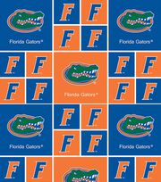 University of Florida Gators Cotton Fabric 43''-Block, , hi-res