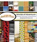 Reminisce Worlds of Adventure 12\u0027\u0027x12\u0027\u0027 Collection Kit