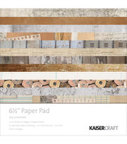 Kaisercraft Documented 40-sheets 6.5'' Paper Pad, , hi-res