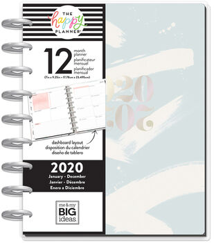 The Happy Planner Classic 2020 Dated Planner-Painterly