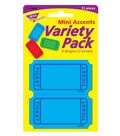 Winning Tickets Mini Accents Variety Pack, 72 Per Pack, 6 Packs