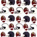 Jolee\u0027s Boutique Dimensional Mini Repeats Stickers-Footballs And Helmets