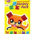 BlockStars! Buddies Classic Accents Variety Pack, 36 Per Pack, 6 Packs
