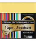 Core\u0027dinations Value Pack Cardstock 12\u0022X12\u0022 100/Pkg-Super Assortment-Textured