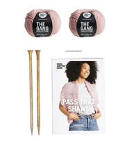 Wool and The Gang XL Cotton Collection-Pass The Shawl, , hi-res
