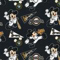 Milwaukee Brewers Cotton Fabric-Mickey